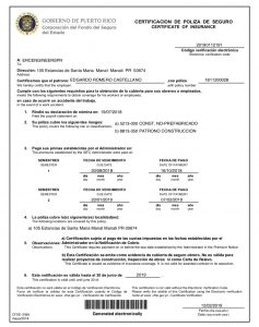 validity certificate
